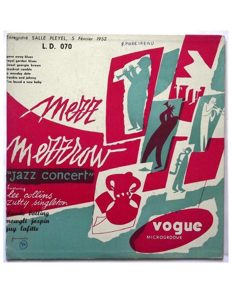 MEZZ MEZZROW  - PLEYEL JAZZ CONCERT, 5 FÉVRIER 1952