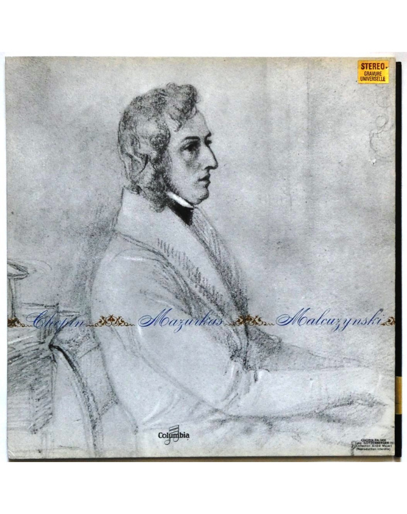 CHOPIN - 15 MAZURKAS (WITOLD MALCUZYNSKI, PIANO SOLO)