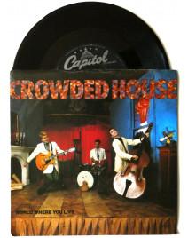 CROWDED HOUSE - WORLD WHERE YOU LIVE (pressage UK)