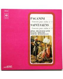 PAGANINI - Concerto pour Violon n°1 / SAINT-SAENS - Concerto pour Violon n°3