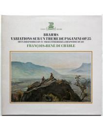BRAHMS - Variations sur un Thème de Paganini op.35 (François-René Duchâble)