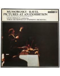 MUSSORGSKY - Pictures At An Exhibition / RAVEL - Pavane Pour Une Infante Défunte ( Tokyo  Symphony Orchestra)
