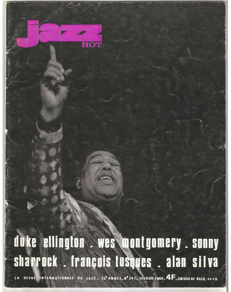 JAZZ HOT N°247 FEVRIER 1969